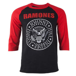 Ramones - Seal Adult Raglan T-Shirt