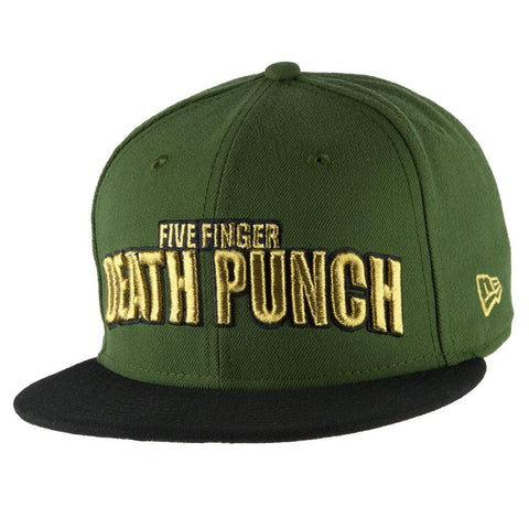 Five Finger Death Punch - Arched Logo Adult Snapback Hat