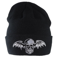 Avenged Sevenfold - Skull Bat Adult Knit Beanie