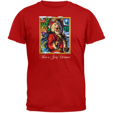 Grateful Dead - Jerry Garcia Christmas T-Shirt