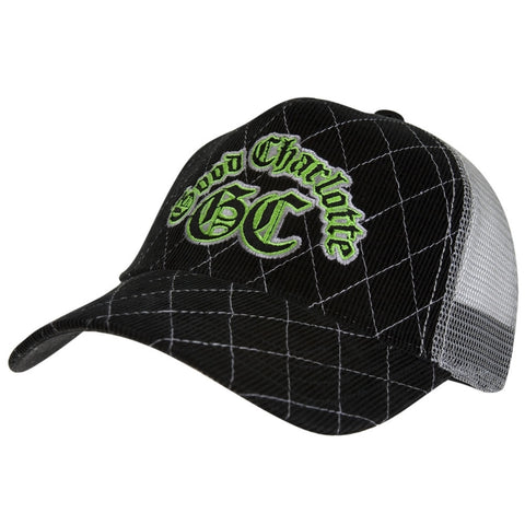 Good Charlotte - Green Logo Trucker Cap