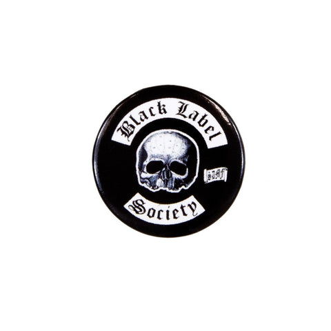 Black Label Society - Skull Button