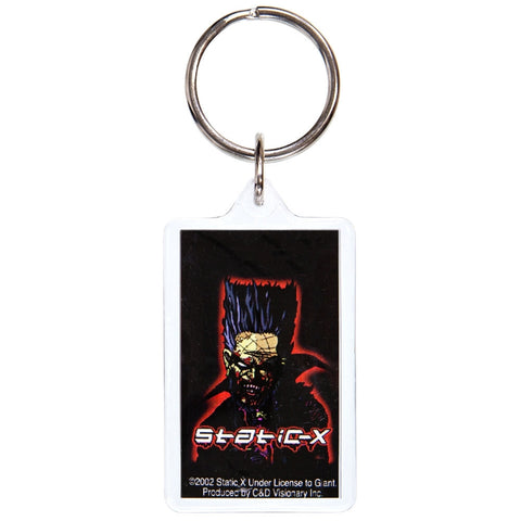 Static X - Cartoon Keychain