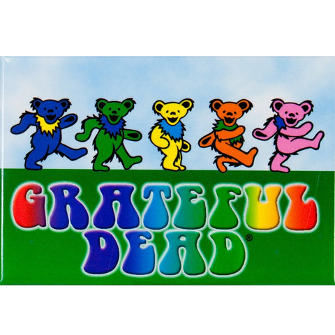 Grateful Dead - Dancing Bears Magnet