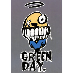 Green Day - Grin Postcard