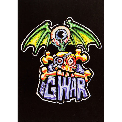 GWAR - Eye Bat Logo Postcard