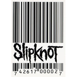 Slipknot - Barcode Postcard