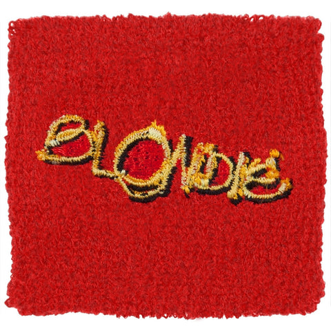 Blondie - Logo Red Wristband