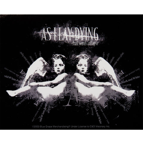 As I Lay Dying - Cherub Decal