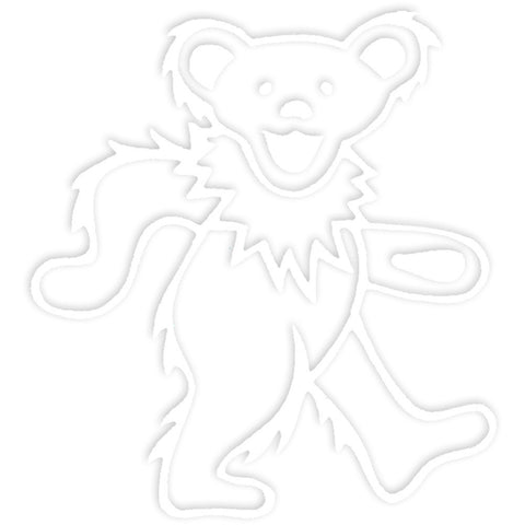 Grateful Dead-Cut-Out White Bear Decal