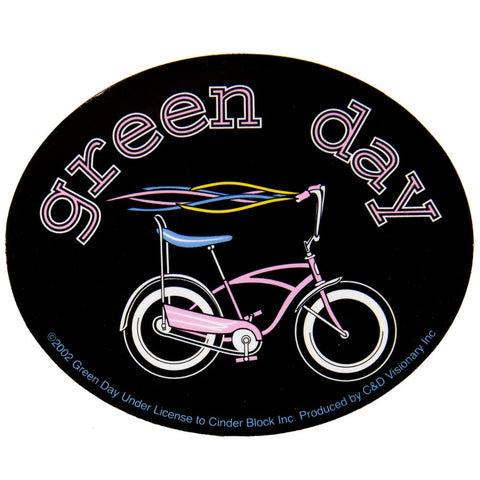 Green Day - Bike Decal