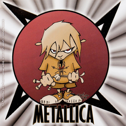 Metallica - Kid Decal