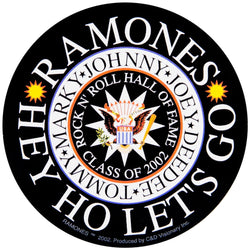 Ramones - Hey Ho Decal