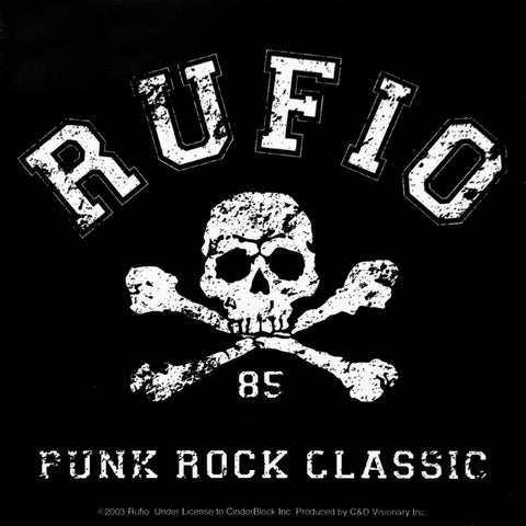 Rufio - Skull Decal
