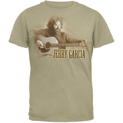 Jerry Garcia - Tuning Guitar T-Shirt