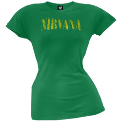Nirvana - Scratch Juniors Tissue T-Shirt
