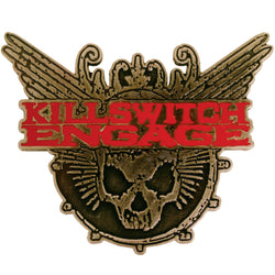 Killswitch Engage - Skull Belt Buckle