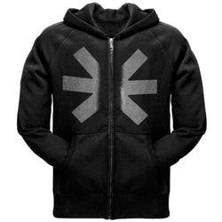 Red Hot Chili Peppers - Grey Asterisk Adult Zip Hoodie