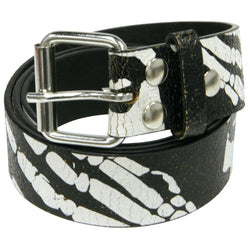 Misfits - Skeletal Collage Print Belt