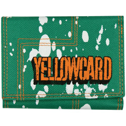 Yellowcard - Painted Velcro Wallet