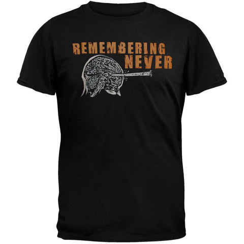 Remembering Never - The Brain T-Shirt