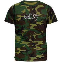 CKY - Corp Outline Camo Ringer T-Shirt