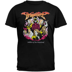 DragonForce - Badge T-Shirt