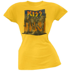 Kiss - Full Color Juniors T-Shirt