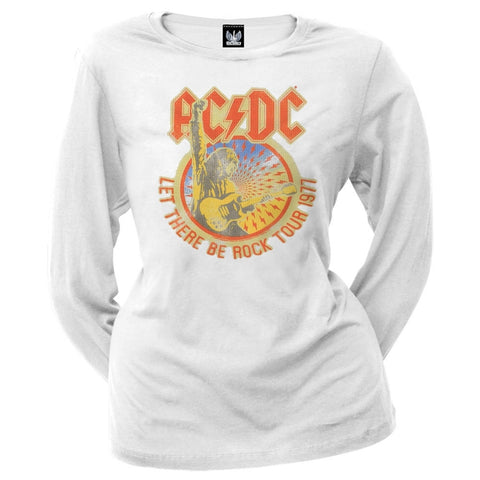 AC/DC - Let There Juniors Long Sleeve T-Shirt