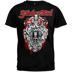 3 Inches Of Blood - Logo Black T-Shirt