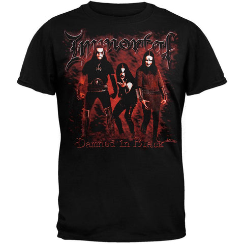 Immortal - Damned In Black T-Shirt