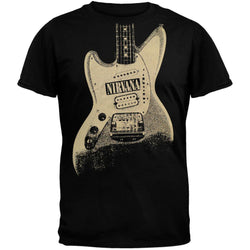 Nirvana - Guitar Image T-Shirt