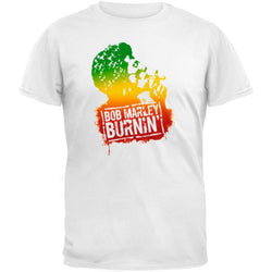 Bob Marley - Tri-Color Burnin T-Shirt