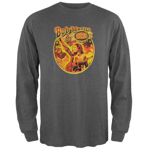 Bob Marley - Rebel Circle Soft Long Sleeve T-Shirt