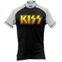 Kiss - Logo Skinz Sports Shirt