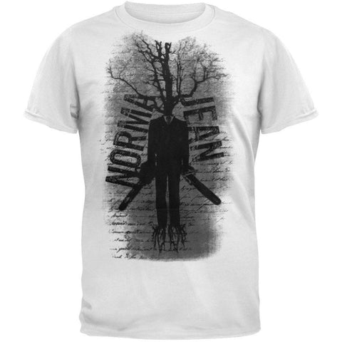 Norma Jean - Chainsaw White T-Shirt