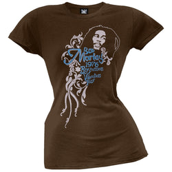 Bob Marley - Vibration Sheer Juniors T-Shirt