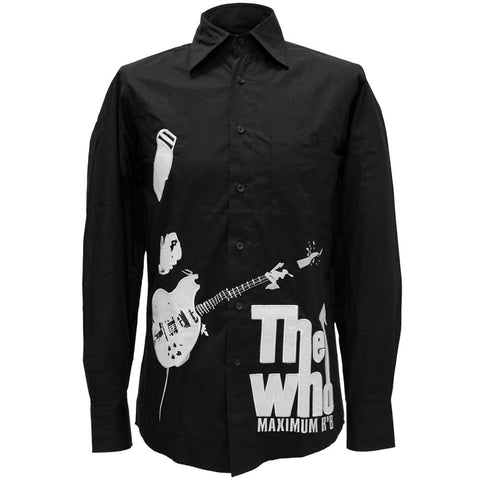 The Who - Maximum Mens Button Down Shirt