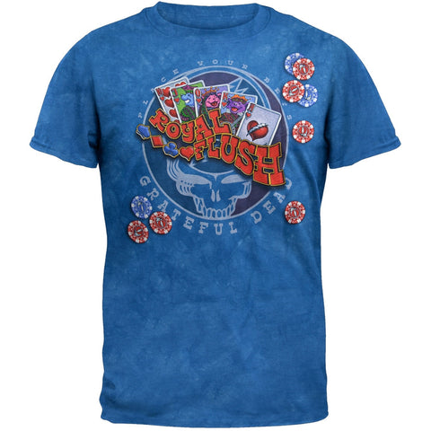 Grateful Dead - Royal Flush Tie Dye T-Shirt