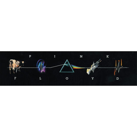 Pink Floyd - LP Collage Decal