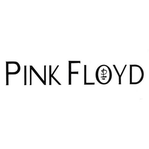 Pink Floyd - Logo Cutout Blue Decal