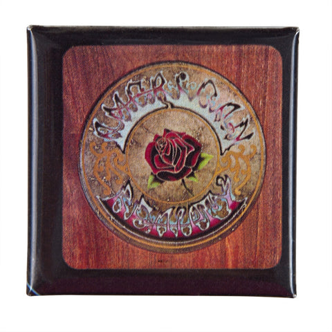 Grateful Dead - American Beauty Square Button