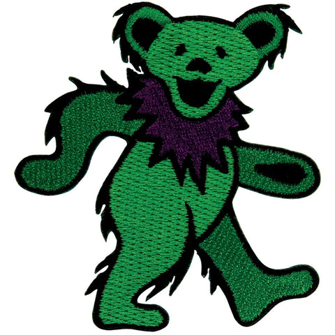 Grateful Dead - Green Dancing Bear Patch