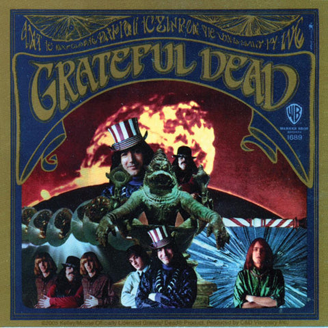Grateful Dead - First Album Decal