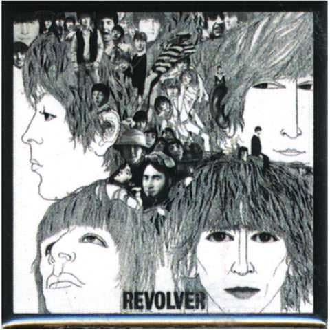 Beatles - Revolver Button
