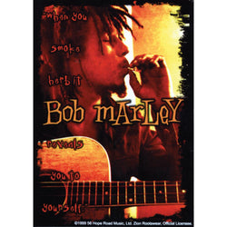 Bob Marley - Herb Reveals Decal
