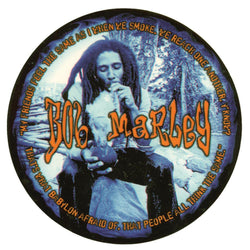 Bob Marley - Blue Chalice Decal