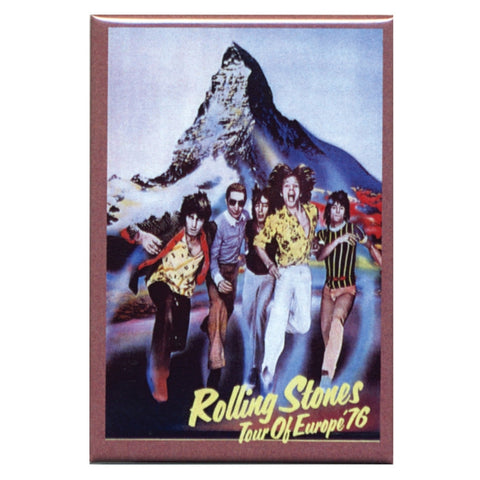 Rolling Stones - Europe 76 Magnet