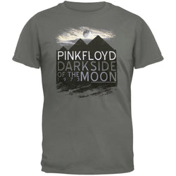 Pink Floyd - Dark Side Pyramids Soft Grey T-Shirt