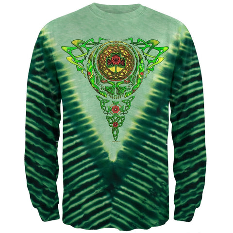 Grateful Dead - Celtic Knot Tie Dye Long Sleeve T-Shirt